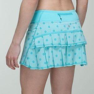 Lululemon Run Pace Setter Skirt 10 Tall